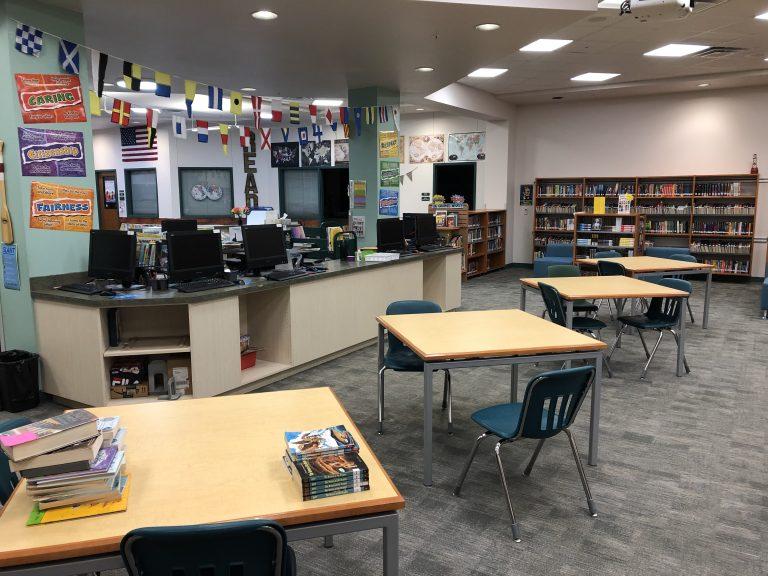 K-8 Media Center