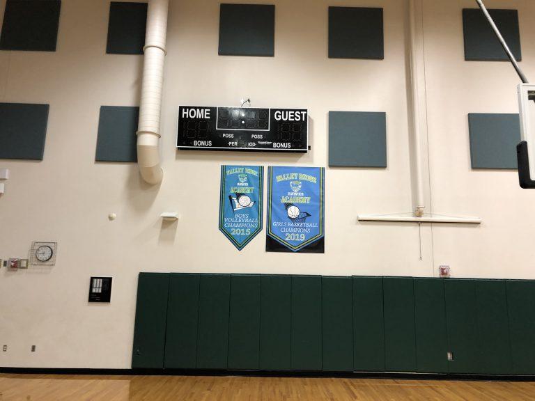 Gymnasium -Go Hawks!