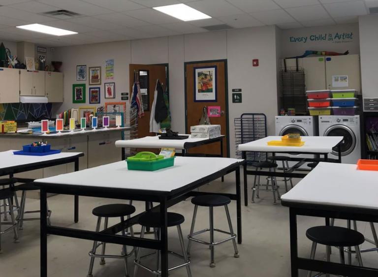 Primary Art Classroom