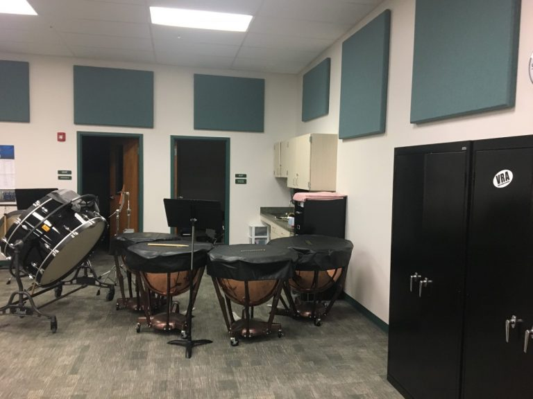 Middle School Band Classroom