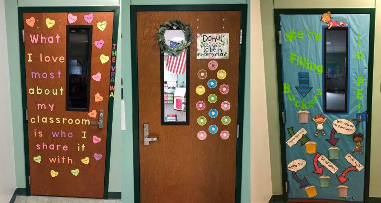 Elementary Classroom Doors