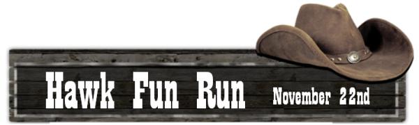 fun run banner